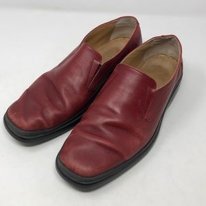 Bally Men's Rogado Red Loafers Size 9